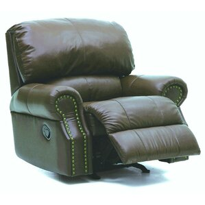 Charleston Leather Manual Rocker Recliner by Palliser Furniture