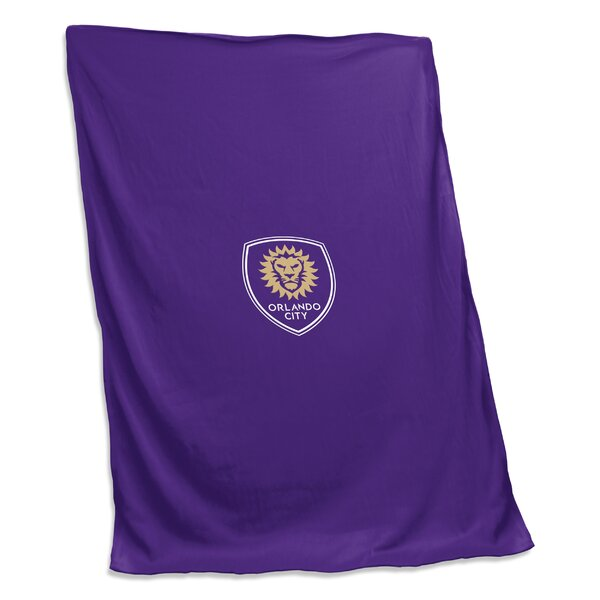 Orlando City SC Sweatshirt Blanket by Logo Brands