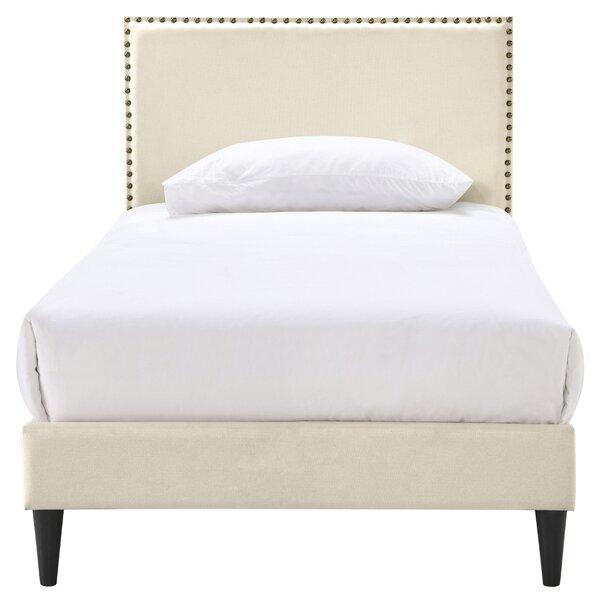 Ellerby Upholstered Platform Bed by Charlton Home