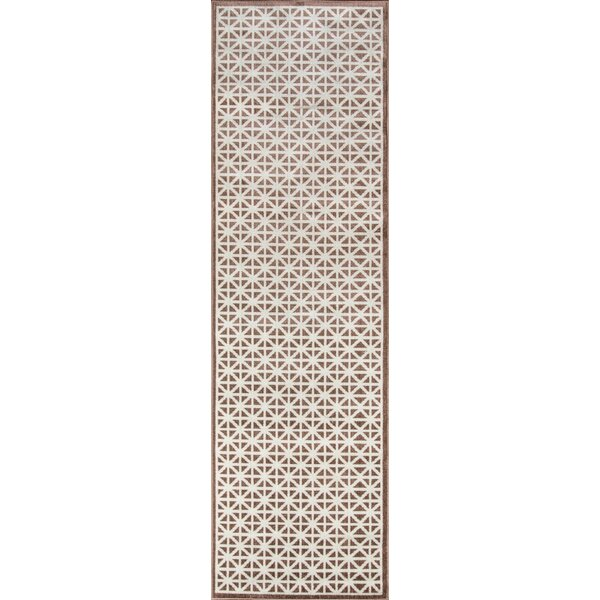 Sandoval Brown Indoor/Outdoor Area Rug by Laurel Foundry Modern Farmhouse