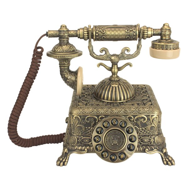 1933 Reproduction Grand Emperor Telephone by Design Toscano