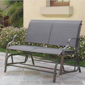 Carey Outdoor Glider Bench A&J Homes Studio