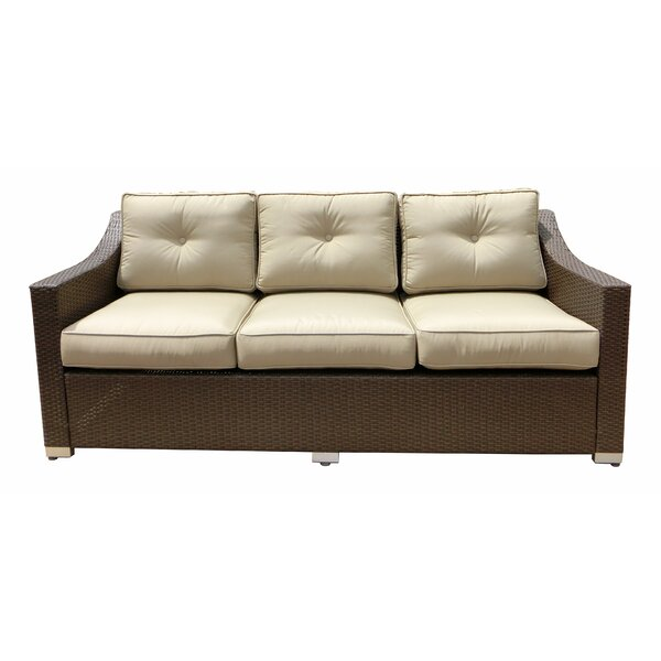 Tampa Patio Sofa with Cushions by World Wide Wicker