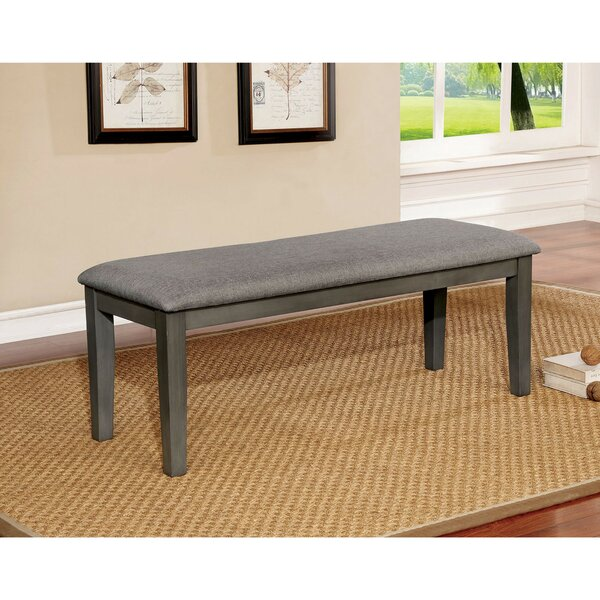 Ramsel Transitional Wood Bench by Loon Peak