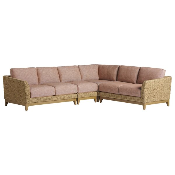 Los Altos Valley View Patio Sectional with Cushions