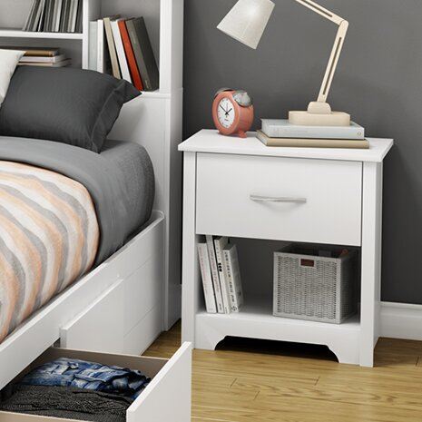 Fusion 1 Drawer Nightstand by South Shore