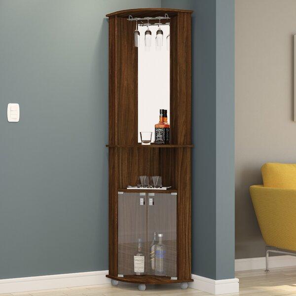 Oblak Corner Bar Cabinet by Ebern Designs Ebern Designs