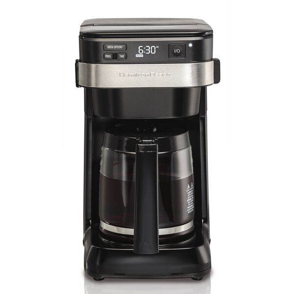 12-Cup Programmable Easy Access Coffee Maker by Ha