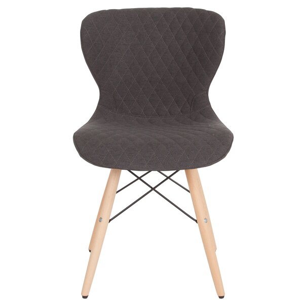 Glazier Contemporary Upholstered Dining Chair by Wrought Studio