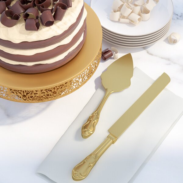 Fellers 2 Piece Cake / Pastry Server by Alcott Hill