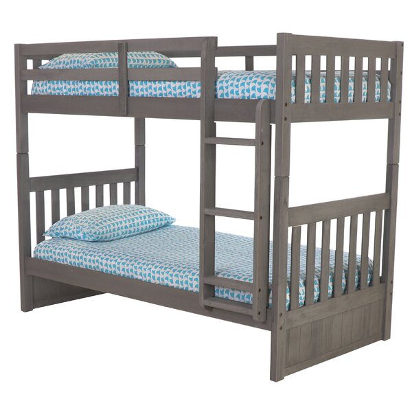 Charcoal Bunk Bed by Birch Lane™ Heritage