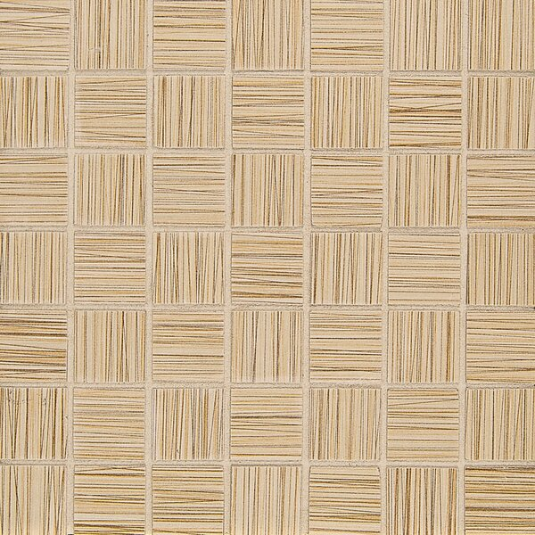 Refine 1.5 x 1.5 Porcelain Mosaic Tile in Coif by Grayson Martin