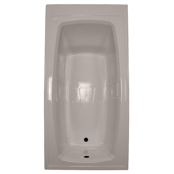 72 x 36 Air Bathtub by American Acrylic