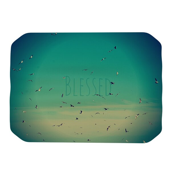 Blessed Placemat by KESS InHouse