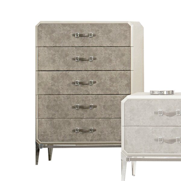 Liz 5 Drawer Chest by Williston Forge