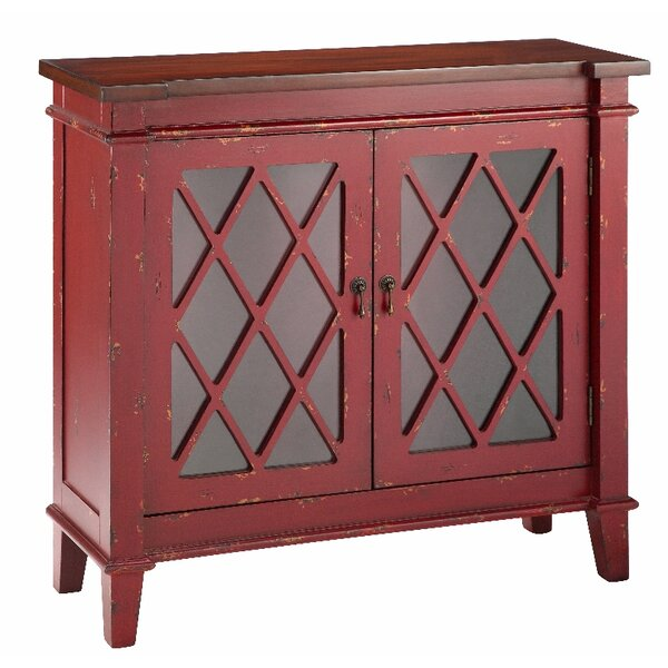 Cliffo With Glass 2 Door Accent Cabinet by August Grove August Grove