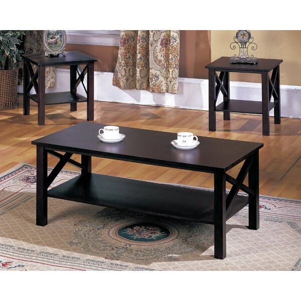 Zelda 3 Piece Coffee Table Set by Andover Mills