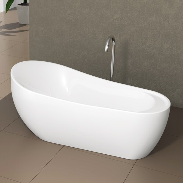 Freestanding Oval 24 x 71 Bathtub by Fine Fixtures