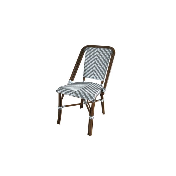 Olguin Modern Caf Stacking Patio Dining Chair by Wrought Studio Wrought Studio