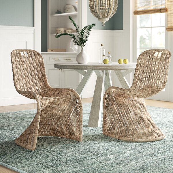 Waddell Dining Chair (Set of 2) by Beachcrest Home