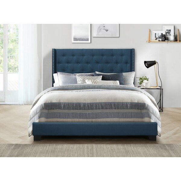 Gloucester Upholstered Standard Bed by Greyleigh