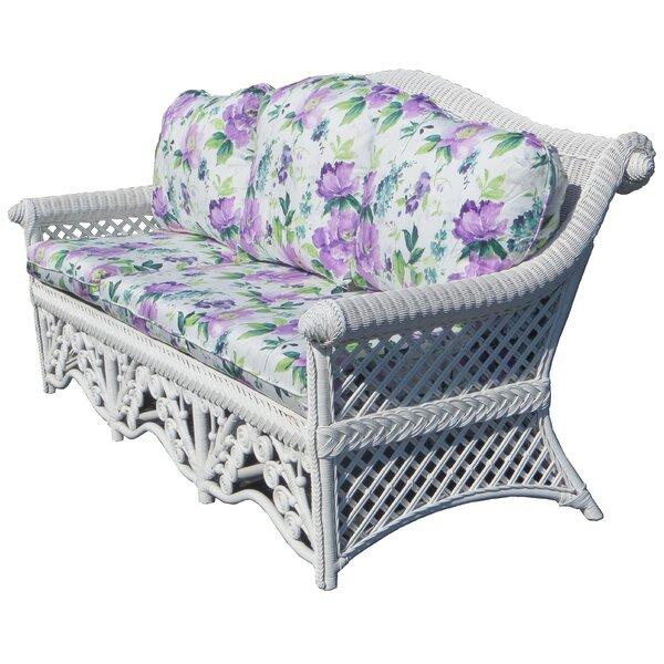 Mathys Wicker Sofa by August Grove