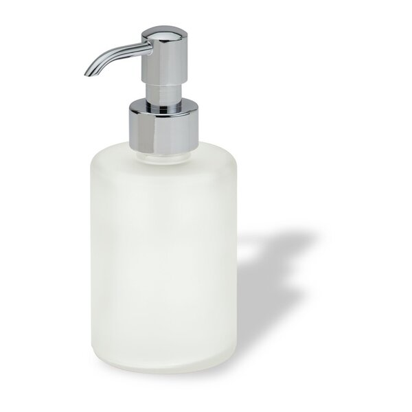 Sara Round Glass Soap Dispenser by Stilhaus by Nameeks