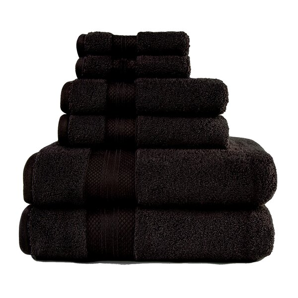 Patric 6 Piece Turkish Cotton Towel Set by The Twillery Co.