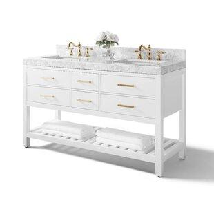 Bargain Jauss 60 Double Bathroom Vanity Set ByMercer41