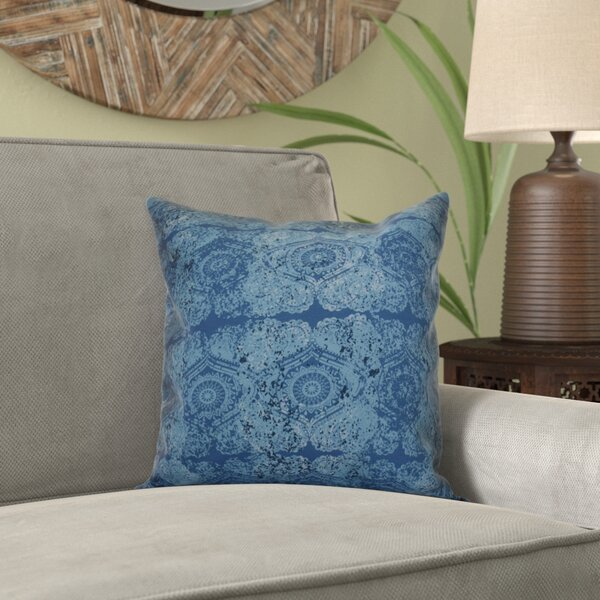 Replogle Geometric Throw Pillow by Bungalow Rose