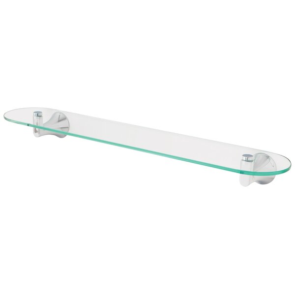 Lewes Glass Wall Shelf by Speakman