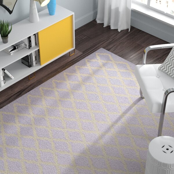 Charlenne Lavender & Ivory Area Rug by Zipcode Design