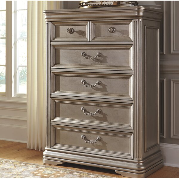 Randell 5 Drawer Chest by Fleur De Lis Living
