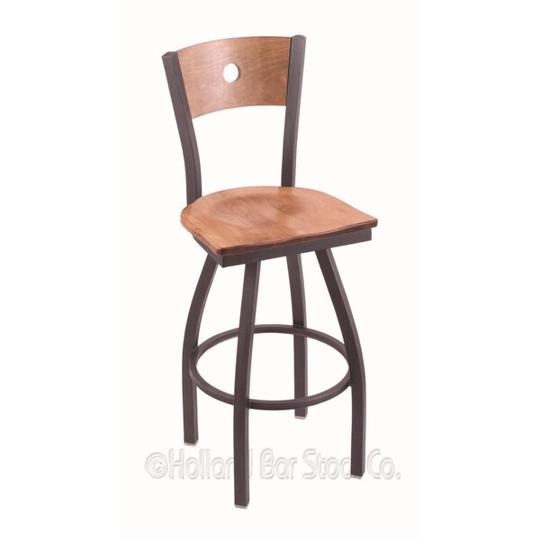 Voltaire 36 Swivel Bar Stool by Holland Bar Stool