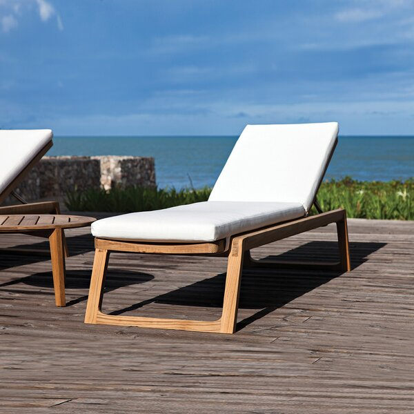 Diuna Indoor/Outdoor Chaise Lounge Cushion by OASIQ OASIQ