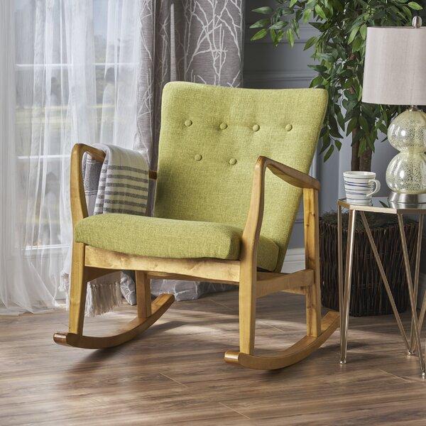 Sauceda Fabric Rocking Chair by Brayden Studio