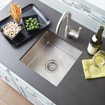 Native Trails Kitchen Sink Undermount Brushed Nickel Kitchen Utility Sinks