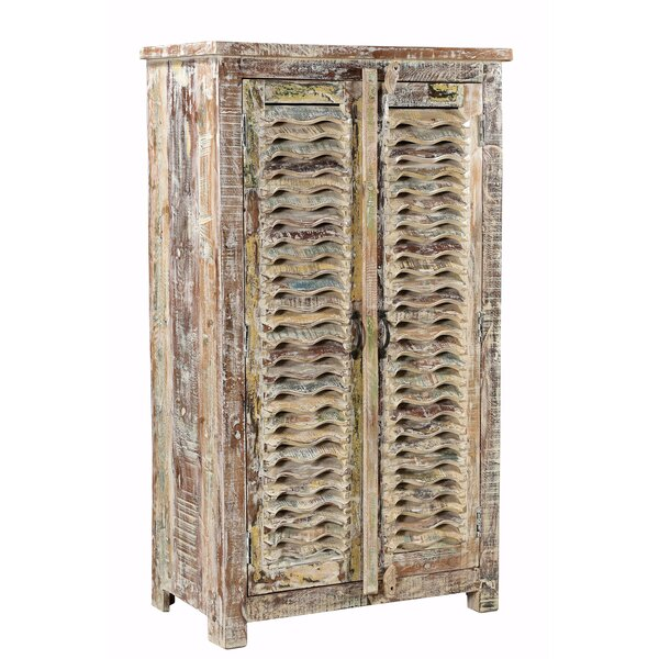 Moultrie Wavy 2 Door Accent Cabinet by Millwood Pines Millwood Pines