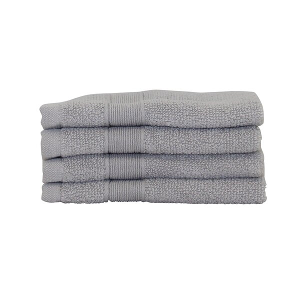 Luxury Cotton Face Towel (Set of 4) by CB Station