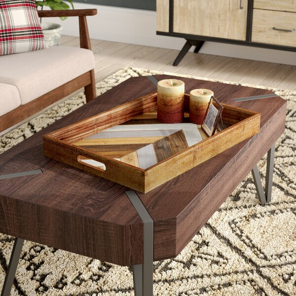 Louisa Fir Wood Accent Tray by Union Rustic