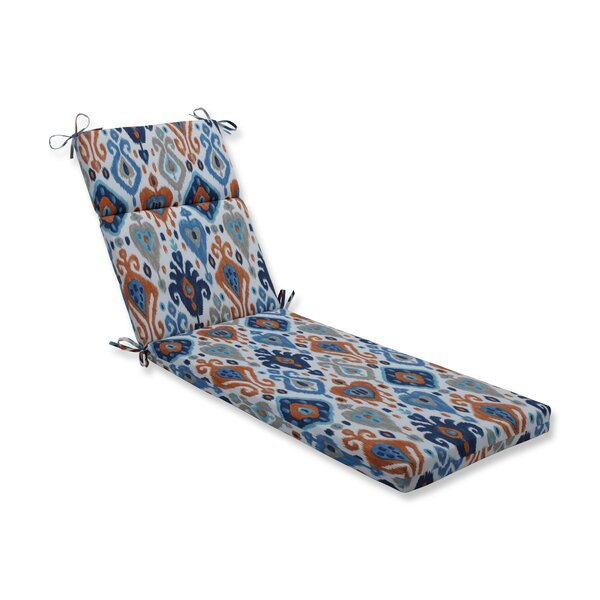 Azure Outdoor Chaise Lounge Cushion