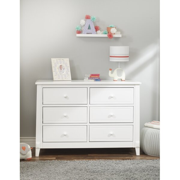 Bargain Berkley 6 Drawer Double Dresser By Sorelle Wonderful