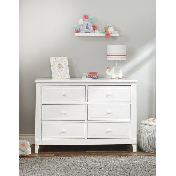 Berkley 6 Drawer Double Dresser by Sorelle