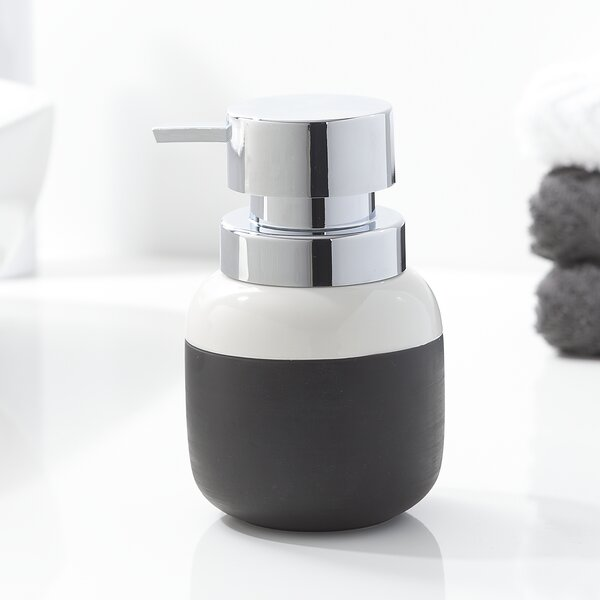 Sarris Countertop Soap and Lotion Dispenser by Brayden Studio