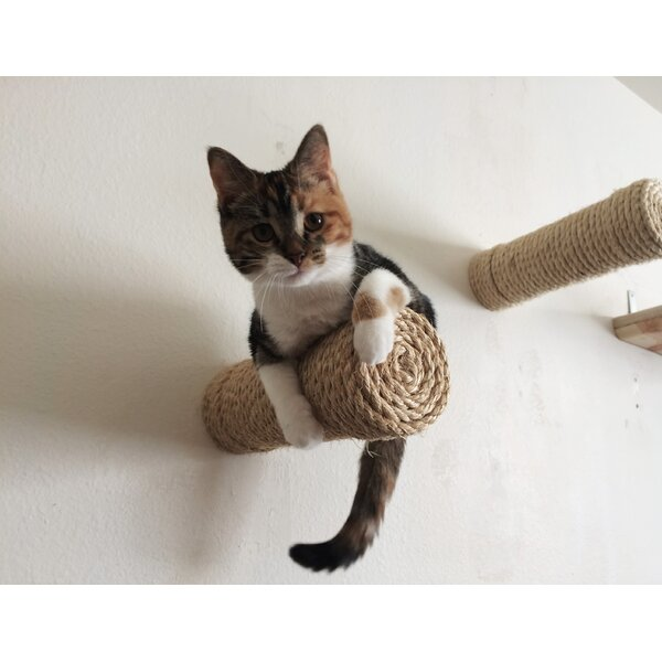11 Floating Sisal Cat Perch by CatastrophiCreations