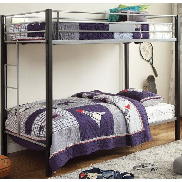 Boaman Twin Bunk Bed by Harriet Bee
