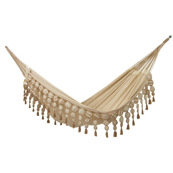 Mooring Cotton Double Tree Hammock by Bungalow Rose