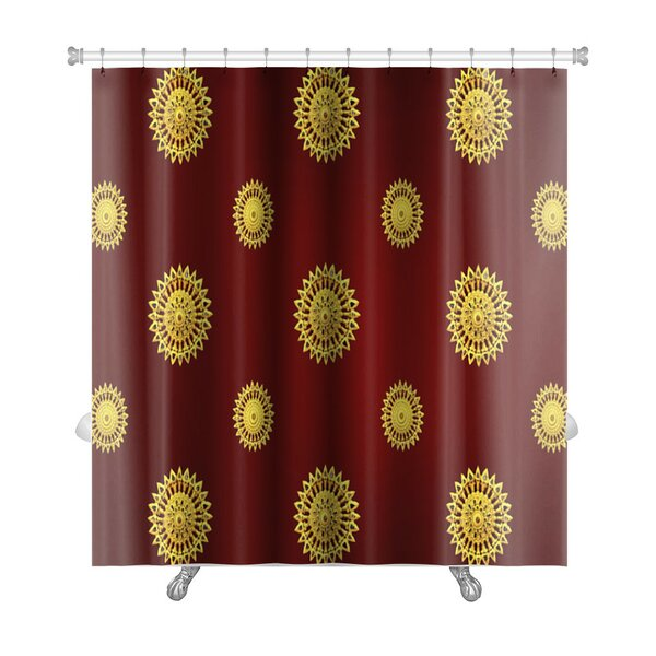 Bravo Traditional Thai Line Art Premium Shower Curtain by Gear New