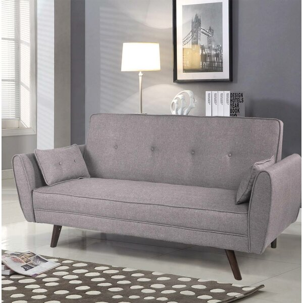 Pante Macassar Button Tufted Sofa by George Oliver
