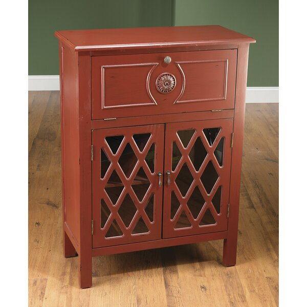 Douglasville 2 Door Accent Cabinet by Charlton Home Charlton Home